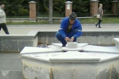 У Тернополі почали роботи з демонтажу фонтанів