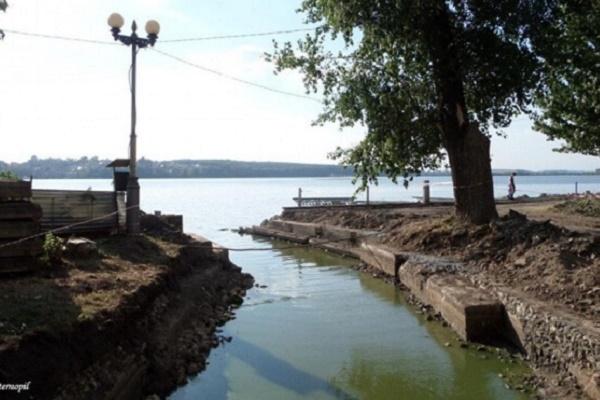Тернополяни не підтримали петицію, щоб відкрити забуту річку Рудка