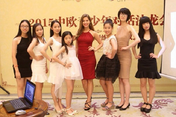 Анастасія Шеремета: «Мене здивувала реакція китайців на європейських дівчат»