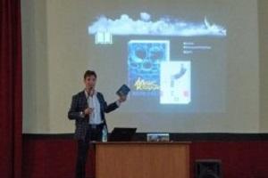 Як у Тернополі відомий письменник Макс Кідрук презентував свій роман (Фото)