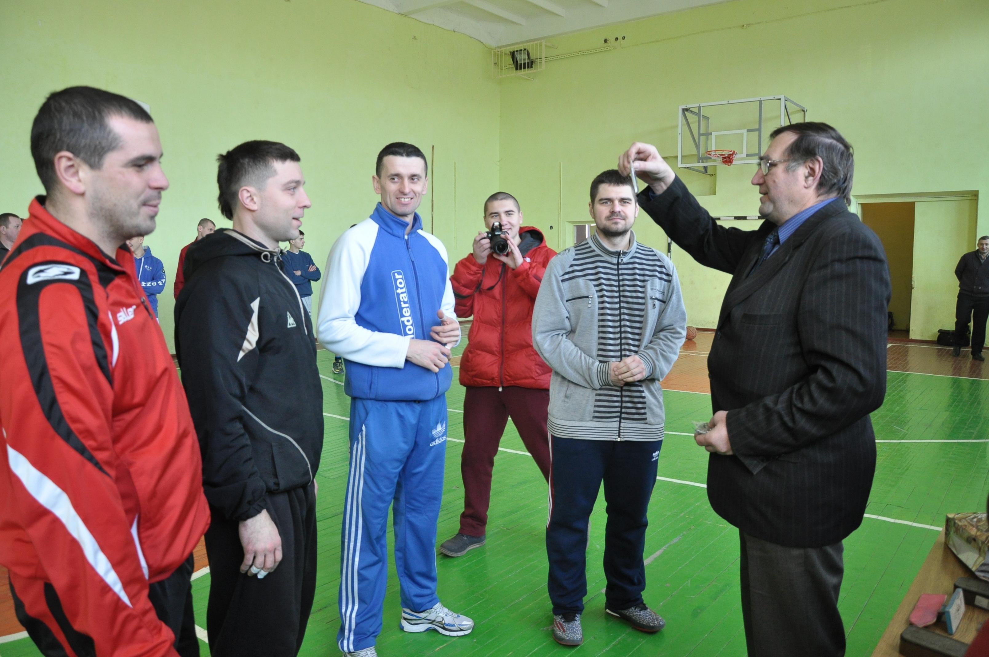На Чортківщині пройшов чемпіонат району з баскетболу серед чоловічих команд