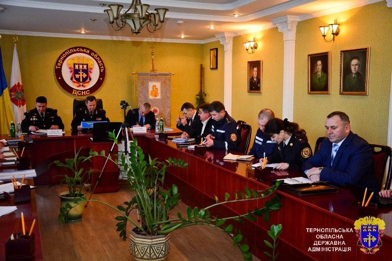 Заступник голови ДСНС України оцінив готовність Тернопільщини до дій в умовах виникнення НС