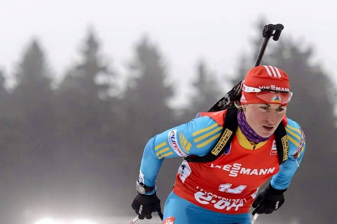 Валя Семеренко здобула «золото» Чемпіонату світу з біатлону