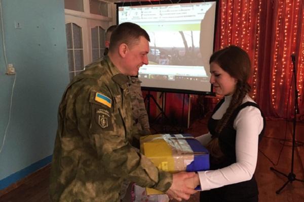 Свято для захисників з Тернополя влаштували учні Лисичанської школи