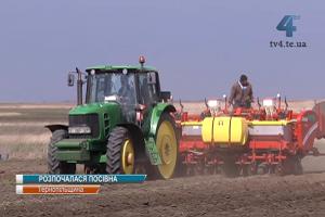 На Тернопільщині розпочалась посівна кампанія