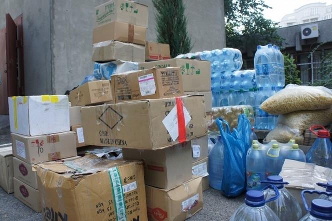 Зібрані волонтерами речі і гроші для АТО обкладуть податком (ВІДЕО)
