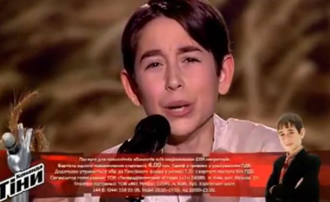 Роман Сасанчин з Тернопольщини  переміг у телепроекті «Голос. Діти» (ВІДЕО)