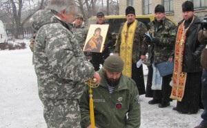 В Україні з'явився перший козацький батальйон (ФОТО)