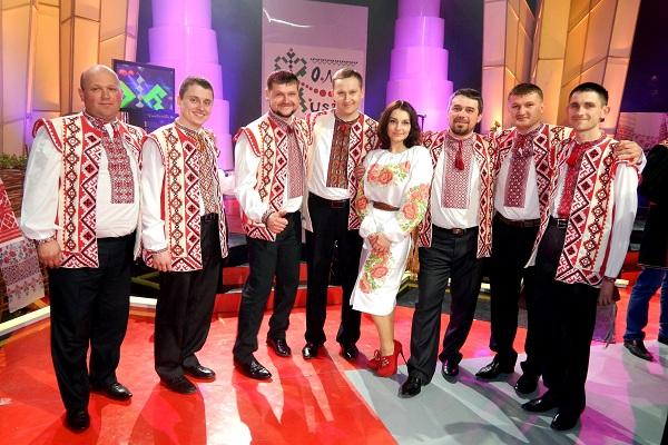 Тернополяни взяли участь у музичній програмі землячки на Першому національному телеканалі