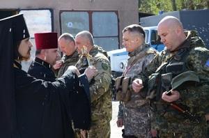 Півсотні бійців спецбатальйону «Тернопіль» вирушили у зону АТО