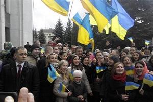 Порошенко в Тернополі: зустріч у «кращих» радянських традиціях