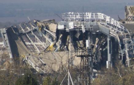 Під завалами Донецького аеропорту знайшли живого