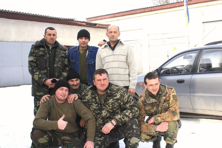 Ще 7 мешканців Тернопілля відправляються в зону АТО