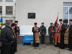 В Чорткові відкрили меморіальну дошку Роману Ільяшенку, який загинув від обстрілів сепаратистів