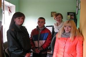 Вихованці кримінально-виконавчої інспекції відвідали Тернопільський «Карітас»