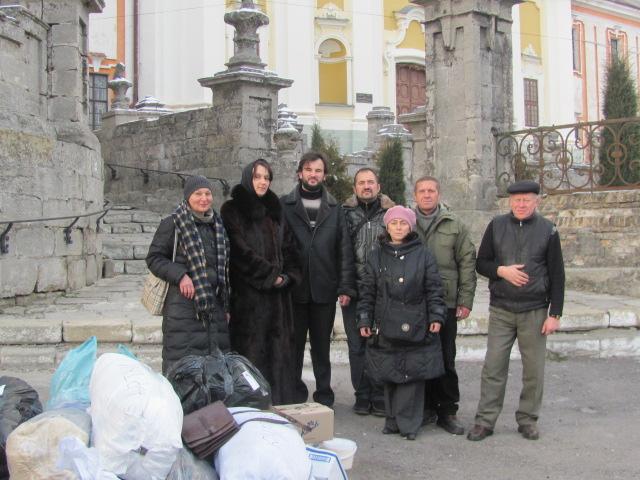 Церковні громади допомагають бійцям АТО