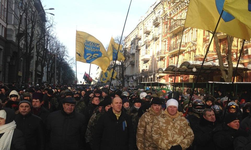 Першу річницю Революції Самооборона Майдану відзначить Маршем Гідності