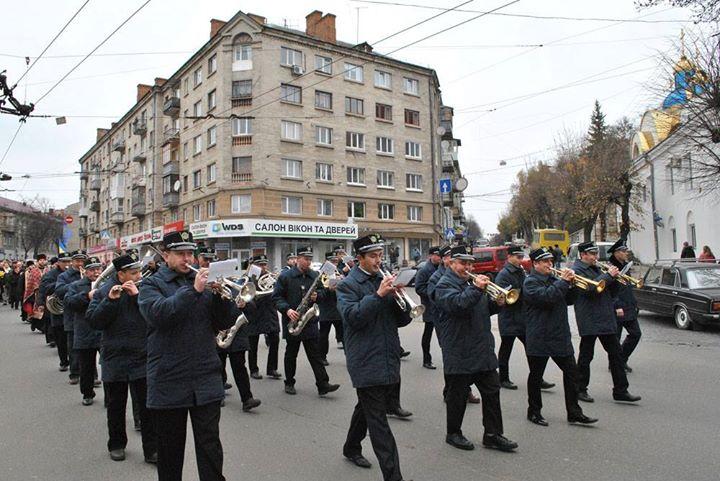 96-та річниця утворення ЗУНР у Тернополі (ФОТОРЕПОРТАЖ)