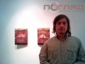 Павло Ярмолик використав для картин ключі з будинку, якого у Тернополі уже не існує
