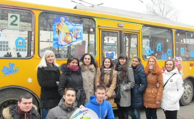 Святковий тролейбус тішитиме тернополян