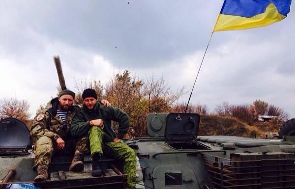 Репер Ларсон воює на Донбасі за Україну разом з тернопільськими