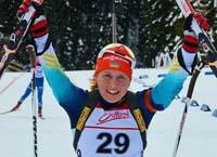 На Кубку світу тернопільська біатлоністка Анастасія Меркушина стала п'ятою в естафеті