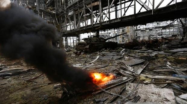 Донецький аеропорт штурмують