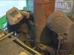 У Тернополі виготовляють твердопаливні бойлери для бійців АТО