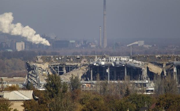 Сили АТО відбили чергову атаку бойовиків на аеропорт Донецьк