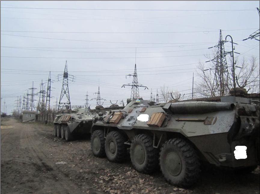 Захисники Луганської ТЕС готові стати новими «кіборгами»