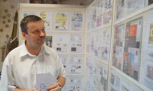 Живі листи: Юрій Заблоцький зібрав колекцію конвертів і марок про Майдан