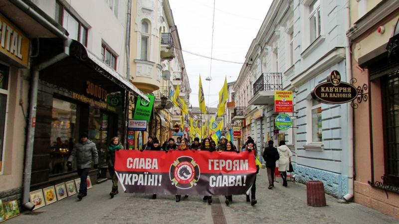 Марш Гідності у Тернополі (ФОТО)