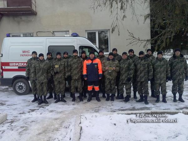 Тернопільських гвардійців навчали надавати першу невідкладну медичну допомогу