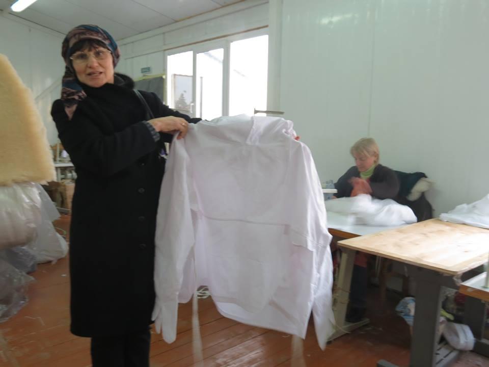 Підприємець зі Скалата допомагає армії (ФОТО)