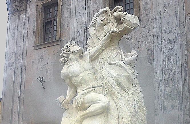 Перший пам'ятник відомому у всьому світі геніальному Пінзелю відкрили у Бучачі (ФОТО)