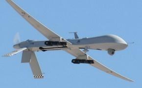 Нічна робота безпілотника в зоні АТО (ВІДЕО)