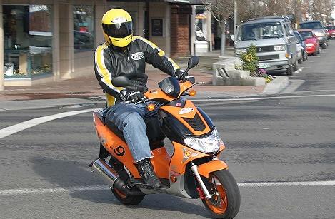 Злодій не встиг покататись на вкраденому скутері