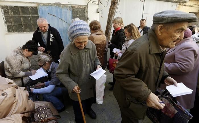 Російські пенсії на Донбасі