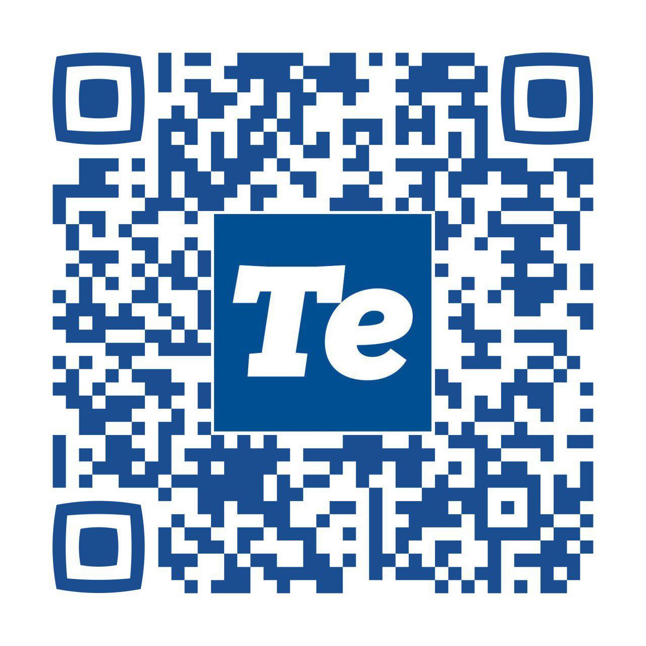 TeNews QR-code